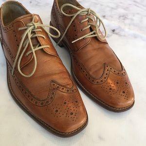Cole Haan Shoes - Cole Haan Nike Air Cognac Wingtip Oxfords 94e215ed6